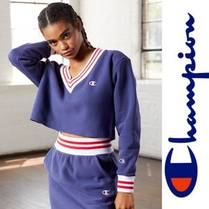 Champion Women's Cropped Sweatshirt